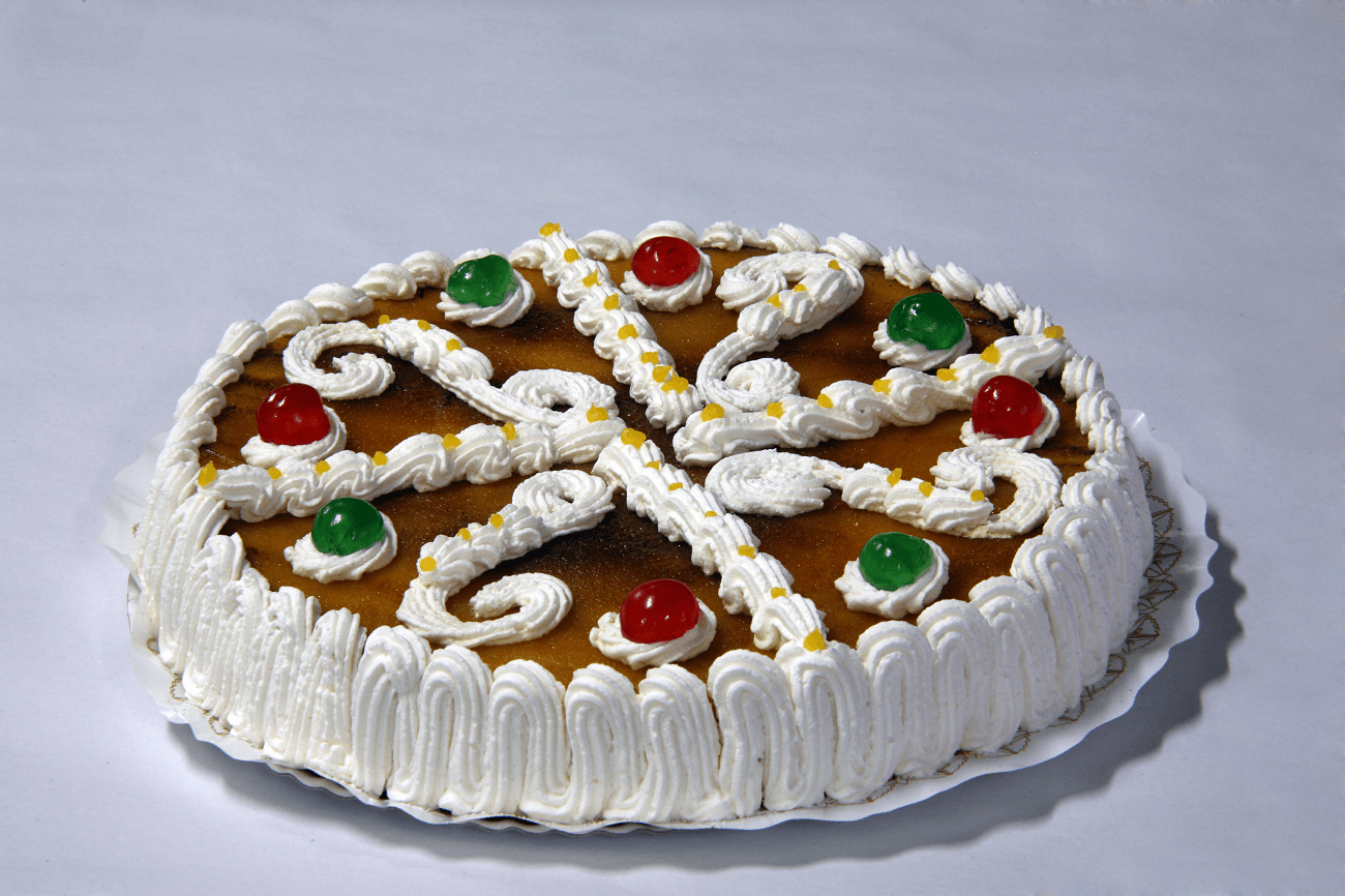 Tarta redonda grande